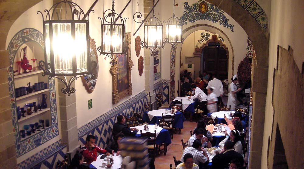 Cafe de Tucaba in the historic district of Centro, Mexico City.
