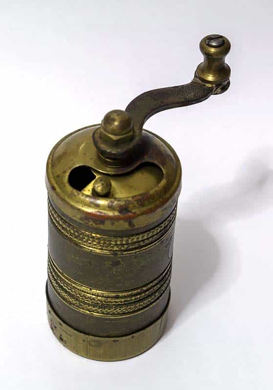 Antique Turkish coffee grinder